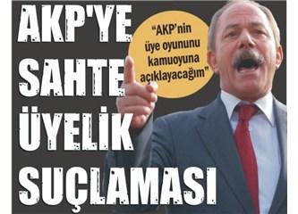 AKP'ye sahte üye suçlaması