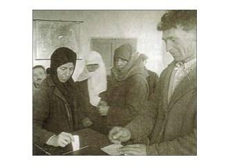 Türk Kadınına Seçme ve Seçilme hakkı verilmesi