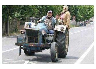 AB ye giren Traktör