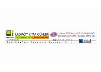 Gençler Kadıköy Belediyesi 6. Kadıköy Kitap Günlerine davetlisiniz