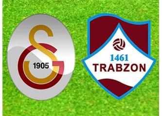 Galatasaray: 1- 1461-Trabzon: 2. Galatasaray kötü yenildi.