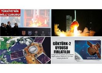 Yerli imkanlarla üretilen Göktürk-2 uydusu başarıyla fırlatıldı ve yörüngeye oturdu.