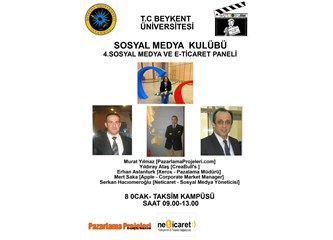 Öğrencilere e-ticaret ve sosyal medya paneli