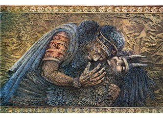 gilgamesh and sohrab and rostam Gilgamesh enkidu ziusudra navajo changing woman diyin dine norse sigurd fafnersbane bödvar bjarki starkad ohlone kaknu ojibwe nanabozho persian rostam.