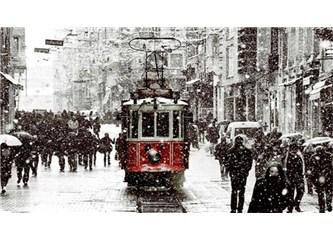 Karlı İstanbul'a şiir