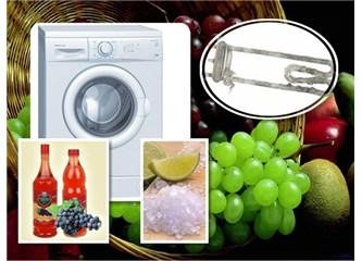 Çamaşır makinenizdeki kireci limon tuzu ile çözün