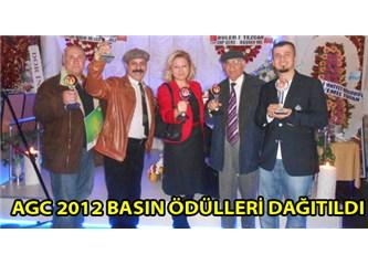 AGC 2012 Yılı Basın Ödülleri