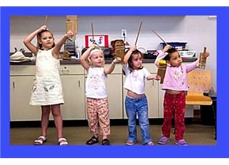 2-3 yaş çocukları için evde yaratıcı oyun fikirleri