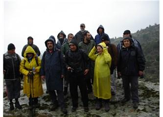 Didimli Doğa Yürüyüşçüleri, Milas Ketendere ve Ekiztaş dağlarındaydılar...