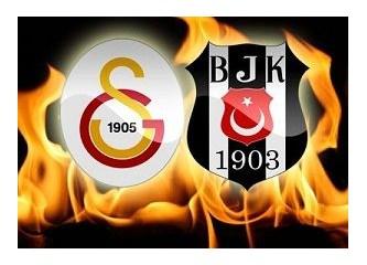 Galatasaray:2- Beşiktaş:1. Galatasaray büyük olduğunu yine gösterdi.