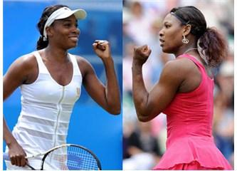 Dünya Tenisinin Taçsız Kraliçeleri : Venüs ve Serena Williams …