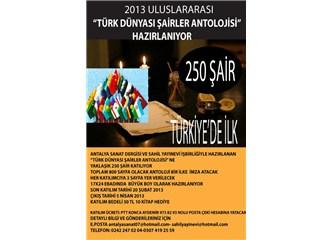 Türk Dünyası Şairler Antolojisi Yüreklice Koşuyor!