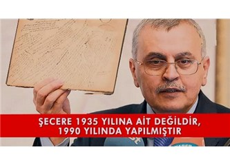 Prof.Ahmet Akgündüz'ün gösterdiği Bediüzzaman'ın şeceresi ile ilgili belgeler sahte mi? Seyredin