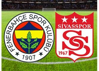 Fenerbahçe: 1- Sivasspor: 2. Fenerbahçe, ne oldu sana?