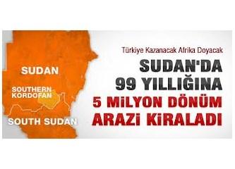 Sudan'dan verimli toprak kiralayan Türkiye, tarımda dışa açılıyor!