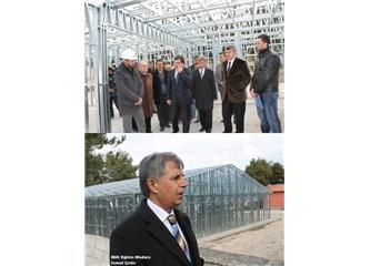 Burdur'da ilk kez depreme dayanıklı çelik konstrüksiyon uygulamalı okul yapılıyor