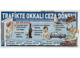 1 promilden yüksek alkollü sürücülere hapis cezası geliyor...