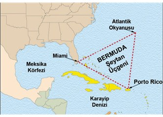 Bermuda şeytan üçgeninin sırrı tamamen çözüldü…