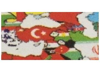 Açılıma destek için ülkeyi harita üzerinde bölen üniversite hangisi?
