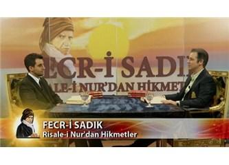 Fecr-i Sadık, Risale-i Nur'dan hikmetler – 1. program