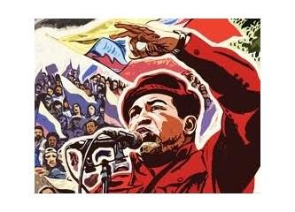 Hugo Chavez Öldü, Emperyalizm Bayram Yapıyor, Mazlumlar Yas Tutuyor