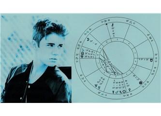 Yükselen yıldız Justin Bieber'ın doğum haritasının analizi