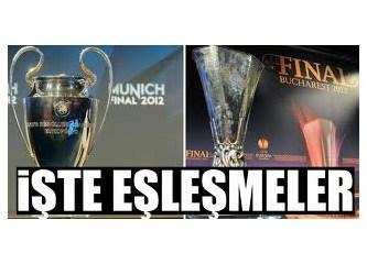 Avrupa'da kuralar çekildi: İşte Fenerbahçe ve Galatasaray'ın rakipleri...