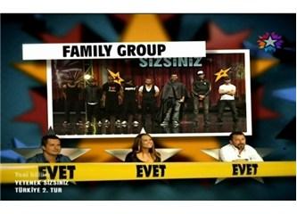 Family Group – komik dansı yutup, bütün çıkarmak: Yetenek Sizsiniz Türkiye – Yarı Final