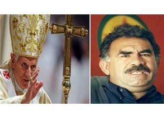 Papa'nın bebek katili Öcalan ile ne işi var?
