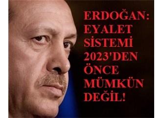 Federasyon, özerklik, muhtariyet, eyalet sistemi gibi sözler Türkiye bölmenin kibar isimleridir!