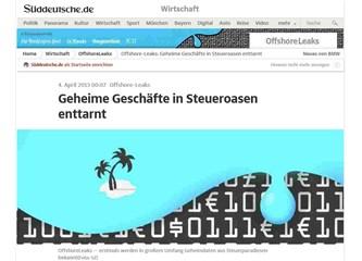 Türk medyası Offshore-Leaks'den bihaber!
