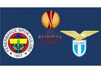 Fenerbahçe'yi direkler de durduramadı! Fenerbahçe 2 Lazio 0