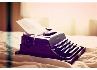 Daktilo, yazı ve çay