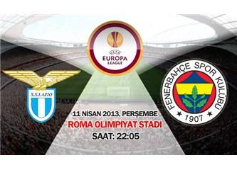 10 dakikalık oyunla yarı final: Lazio 1–1 Fenerbahçe (11/04/2013 özetin video linki dahil)