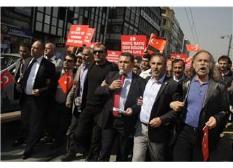 1500 Beykozlu, 2B rayiçlerini protesto için yürüdü. Sonuç: Ankara yolu göründü!