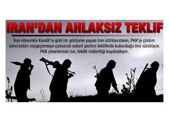 """İran da PKK'ya """"ahlaksız teklif""""te bulunmuş..."""