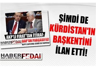 Dengir Mir Mehmet Fırat buyurmuş: Kürdistan'ın başkenti Erciş!