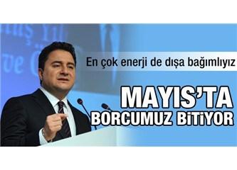 Halen 563 milyar borcumuz olduğu söyleniyor; Türkiye'nin borcu bittiyse başbakan çıksın açıklasın
