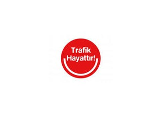 Trafik Haftasının en anlamlı Pankartı!