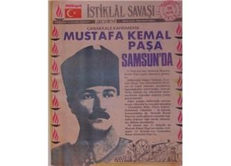 Mustafa Kemal Paşa, 'Biz Anadolu'ya ideali ve imanı götürüyoruz'