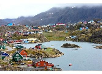 Sabahsız Gecelerin yeri Grönland Adası…