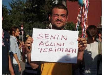 Başkent'te ilginç protesto
