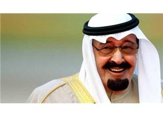 Suudi Arabistan kralı öldü. Britanya'nın başı sağolsun