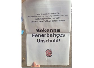 Fenerbahçe suçsuzdur