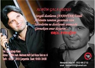 "Erol Aydoğan'ın ilk albümü, ""Anahtar"" çıktı"