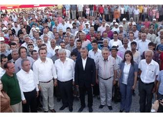 Manavgat Belediyesi'nden anma, açılışve Onur Akın konseri