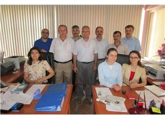Samsun BÜRO MEMUR-SEN Terme'de üyelerini ziyaret etti
