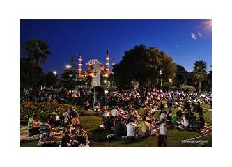 Sultanahmet Meydanında Ramazan