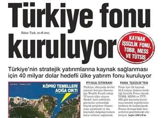Türkiye fonu geliyor...