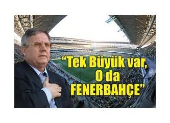 Hangisi daha büyük acaba? Aziz Yıldırım mı, Fenerbahçe mi?